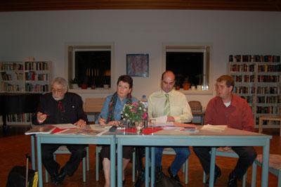 Leitung der Arge Billstedt zu Gast im Job-Café Billstedt