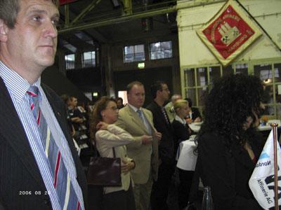 Feierstunde zur Lehrlingsbegrüßung der Norddeutschen Affinerie im August 2006