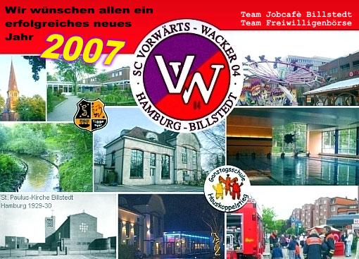 Das Team des Job-Cafes wünscht ein schönes Jahr 2007