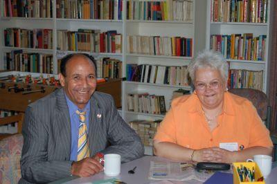 Brigitte und Jimmy Khemiri