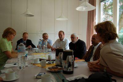 Krista Sager (Bündnis90/Die Grünen) zu Besuch im Job-Cafè Billstedt