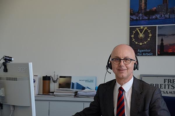 Sönke Fock, Vorsitzendes Mitglied der Geschäftsführung der Agentur für Arbeit Hamburg