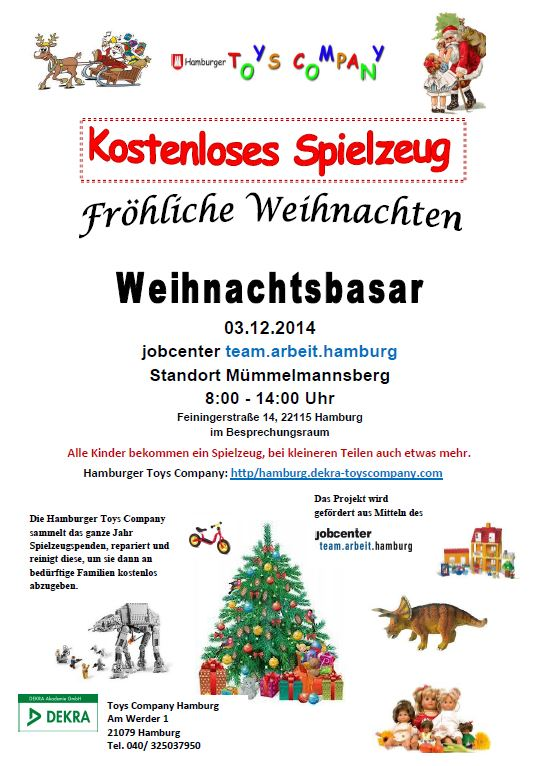 Weihnachtsbasar Mümmelmannsberg