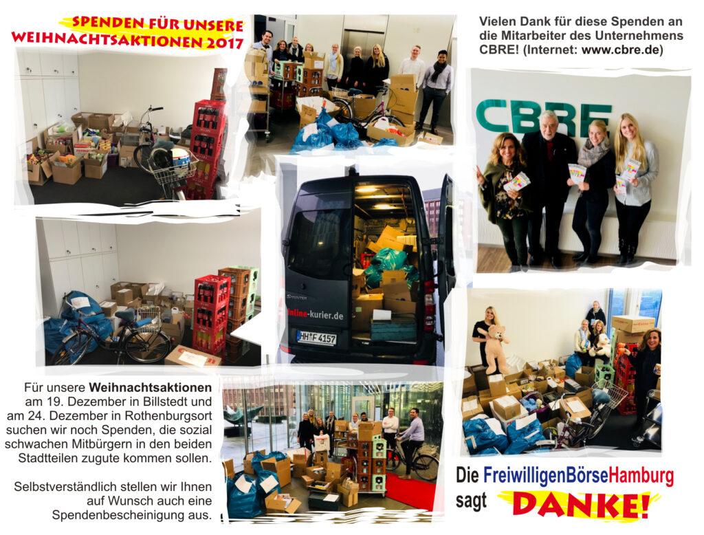 FreiwilligenBörseHamburg hilft sozialen Einrichtungen und Bedürftigen in den Stadtteilen Billstedt, Hamm, Horn und Rothenburgsort